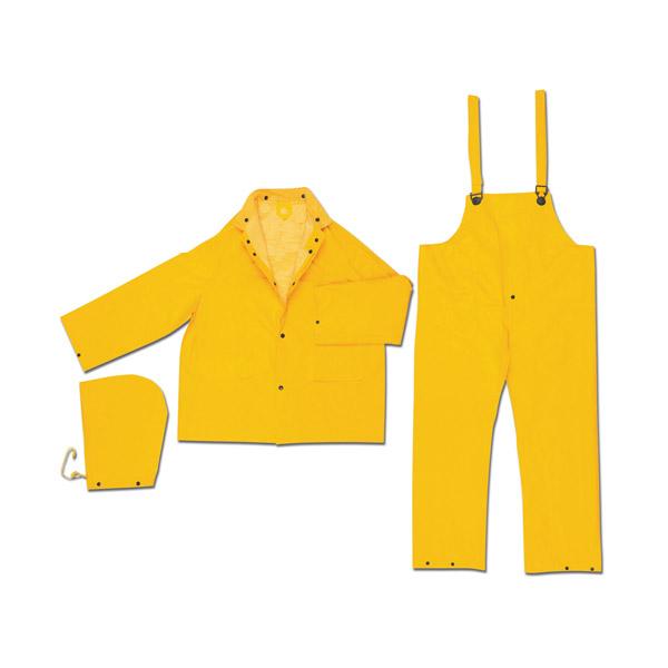 MCR Safety® Classic Plus 3-Piece Rain Suit, 3X-Large