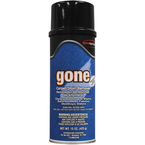 QuestSpecialty® Gone Carpet Stain Remover, 15 oz Aerosol