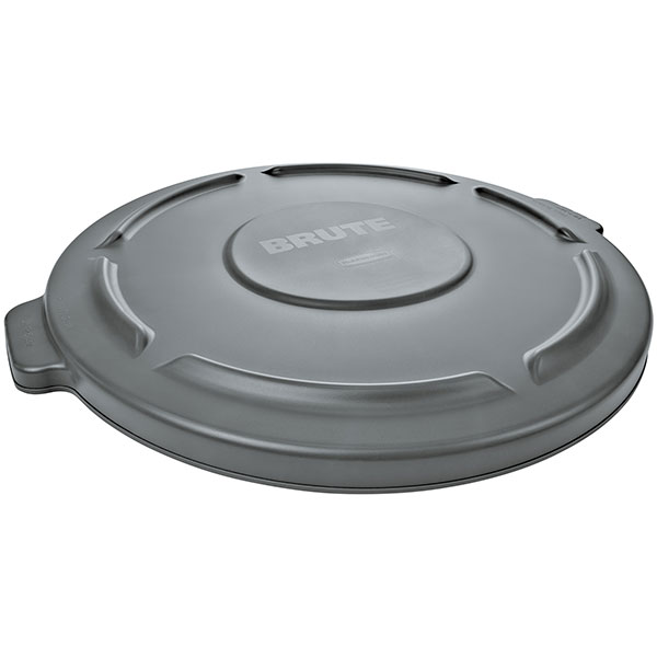 Rubbermaid Brute Container Lid (Fits 44 gal Container), Gray