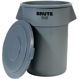 Rubbermaid® Brute® Container Lid (Fits 55 gal Container), Gray