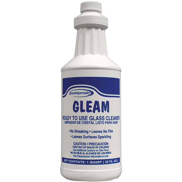 QuestSpecialty® Gleam Ready-To-Use Glass Cleaner