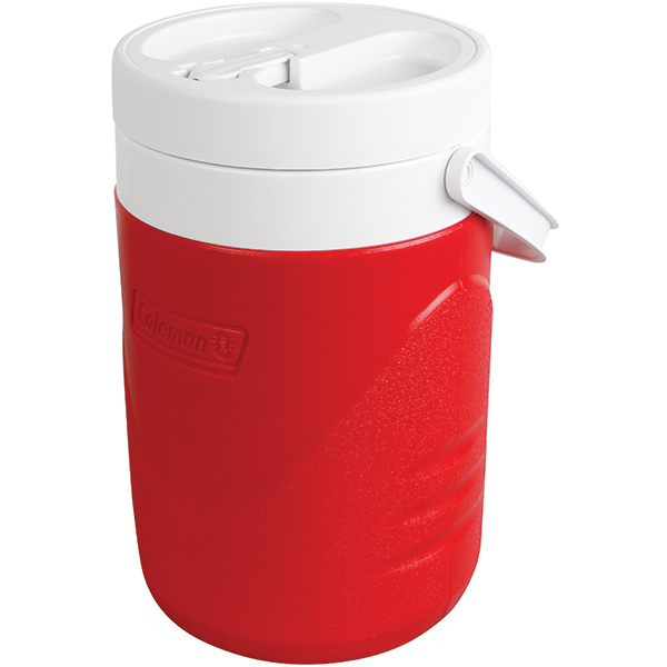 Coleman® Flip-Top Jug, 1 gal, Red