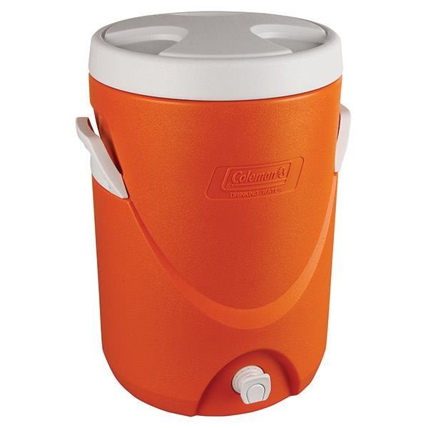 Coleman® Beverage Cooler, 5 gal, Orange