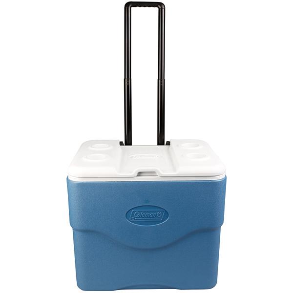 Coleman® Xtreme® 5 Wheeled Cooler, 75 quart, Blue