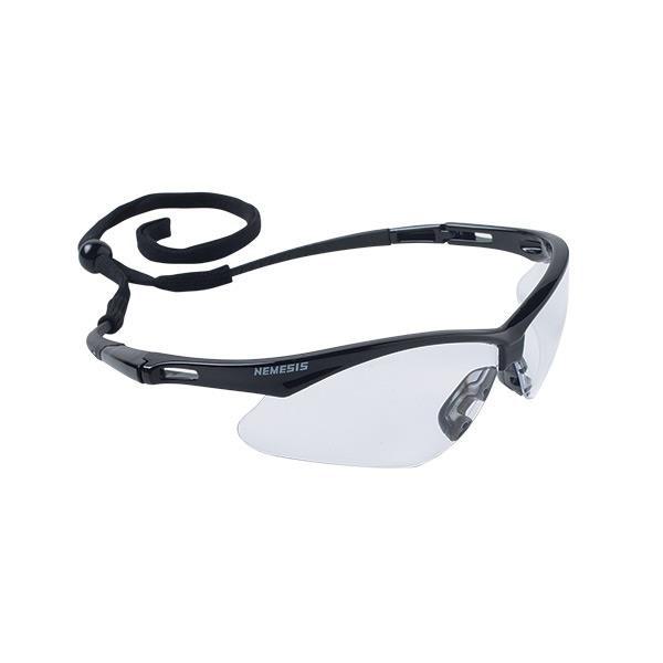 Jackson* V30 Nemesis* Eyewear, Black Frame, Clear Anti-Fog Lens