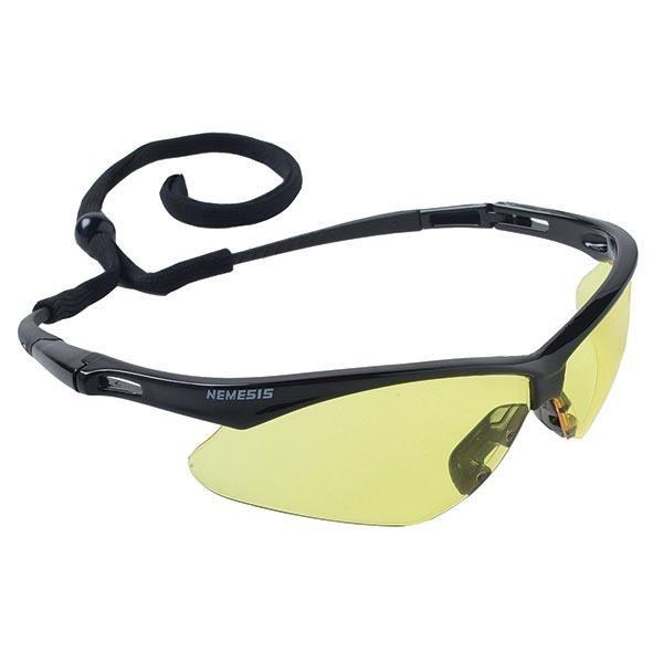 Jackson* V30 Nemesis* Eyewear, Black Frame, Amber Lens