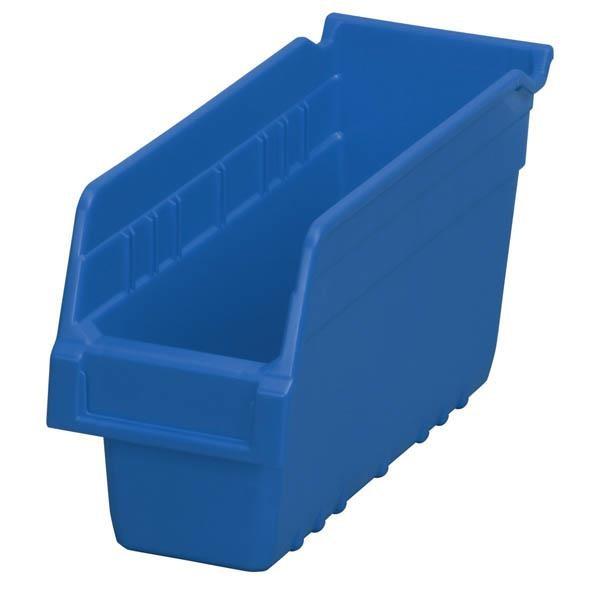 """Akro-Mils® ShelfMax® Bin, 11 5/8""""L x 6""""H x 4 1/8""""W, Blue"""