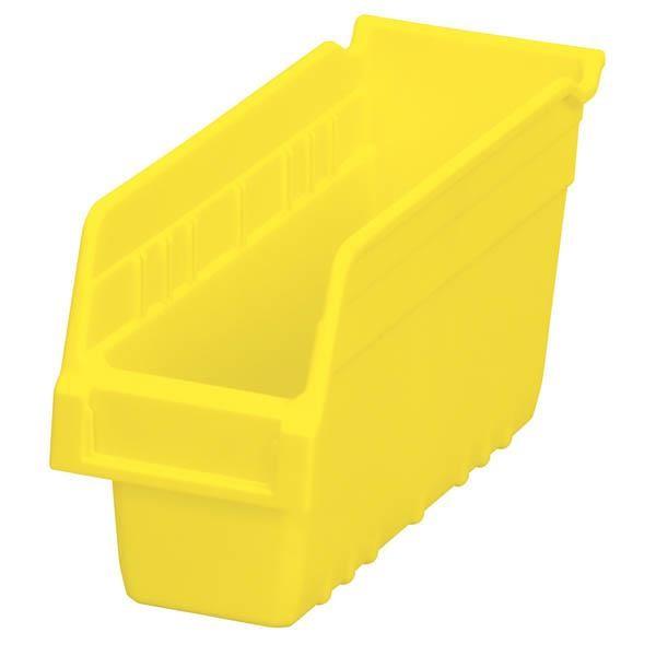 "Akro-Mils® ShelfMax® Bin, 11 5/8""L x 6""H x 4 1/8""W, Yellow"