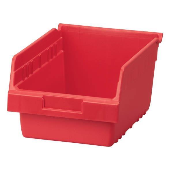 """Akro-Mils® ShelfMax® Bin, 11 5/8""""L x 6""""H x 8 3/8""""W, Red"""