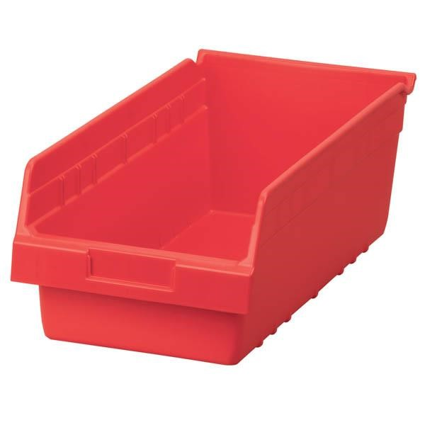 """Akro-Mils® ShelfMax® Bin, 17 7/8""""L x 6""""H x 8 3/8""""W, Red"""