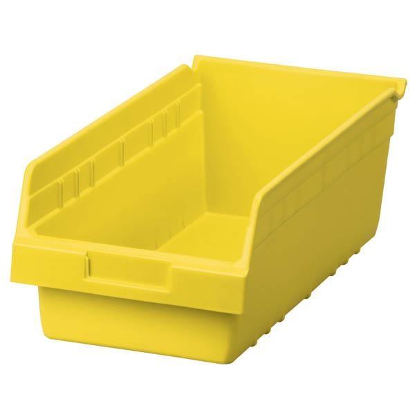 "Akro-Mils® ShelfMax® Bin, 17 7/8""L x 6""H x 8 3/8""W, Yellow"