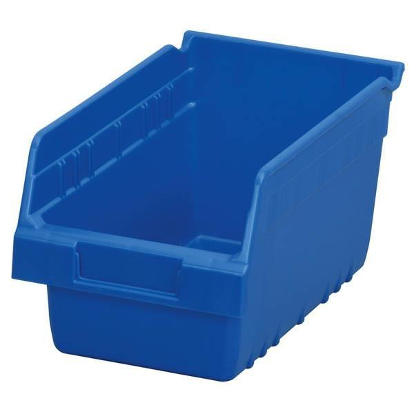 """Akro-Mils® ShelfMax® Bin, 11 5/8""""L x 6""""H x 6 5/8""""W, Blue"""