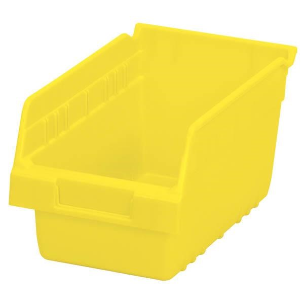 "Akro-Mils® ShelfMax® Bin, 11 5/8""L x 6""H x 6 5/8""W, Yellow"
