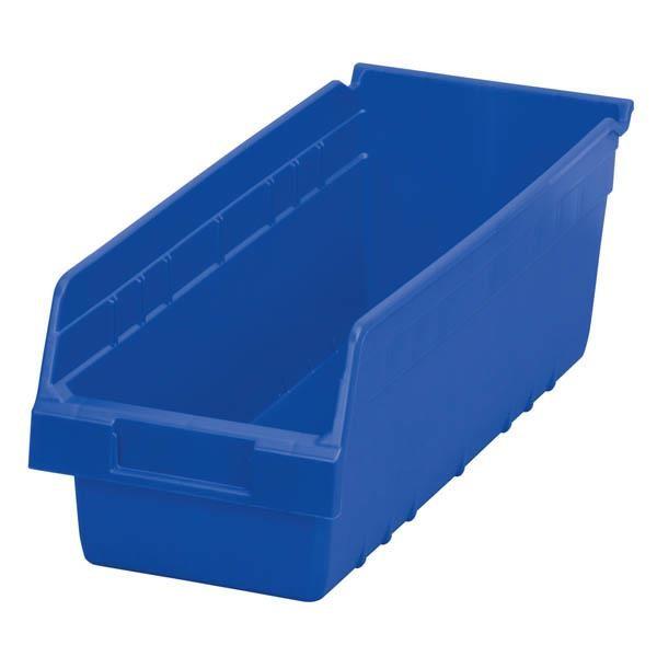 """Akro-Mils® ShelfMax® Bin, 17 7/8""""L x 6""""H x 6 5/8""""W, Blue"""