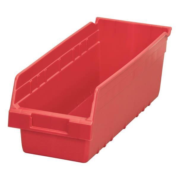 """Akro-Mils® ShelfMax® Bin, 17 7/8""""L x 6""""H x 6 5/8""""W, Red"""