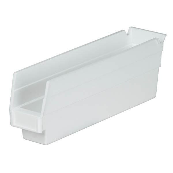 "Akro-Mils® Shelf Bin, 11 5/8""L x 4""H x 2 3/4""W, Clear"