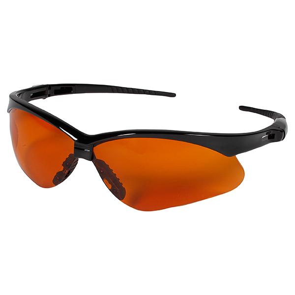 Jackson* V30 Nemesis* Eyewear, Black Frame, Copper Blue Shield Lens