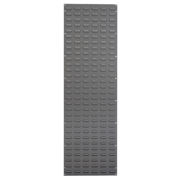 "Akro-Mils® Louvered Panel, 18""L x 61""H x 5/16""W, Gray"