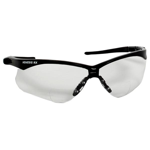 Jackson* V60 Nemesis* RX Eyewear, Clear Lens, +2.0 Diopter