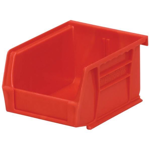 """Akro-Mils® AkroBins® Standard Storage Bin, 5 3/8""""L x 3""""H x 4 1/8""""W, Red"""