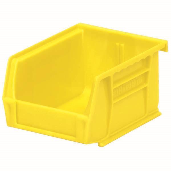 "Akro-Mils® AkroBins® Standard Storage Bin, 5 3/8""L x 3""H x 4 1/8""W, Yellow"