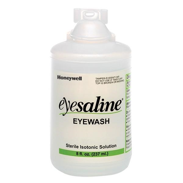 Honeywell® Eyesaline® Eyewash Bottle, 8 oz