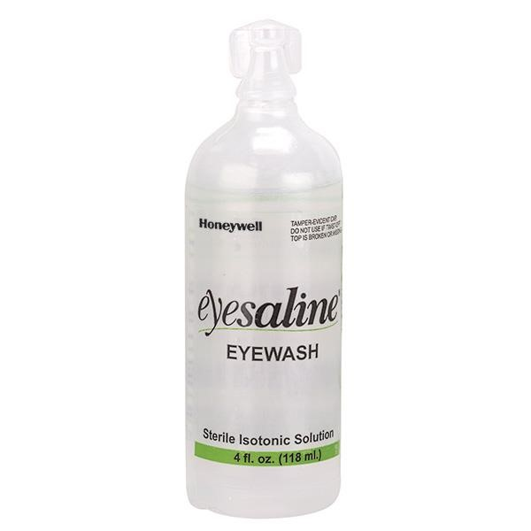 Honeywell® Eyesaline® Eyewash Bottle, 4 oz