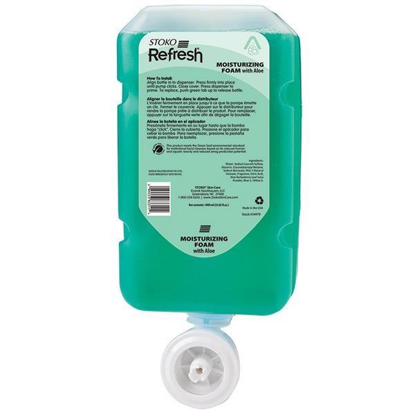 Deb Group Refresh® Moisturizing Wash w/ Aloe Vera, 1 L Refills, 4/Case