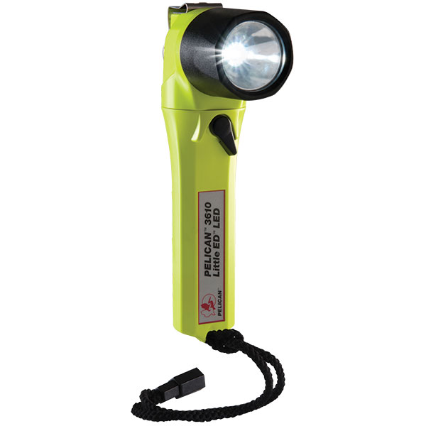 "Pelicanâ""¢ Little Edâ""¢ Right Angle LED (3610) Flashlight"