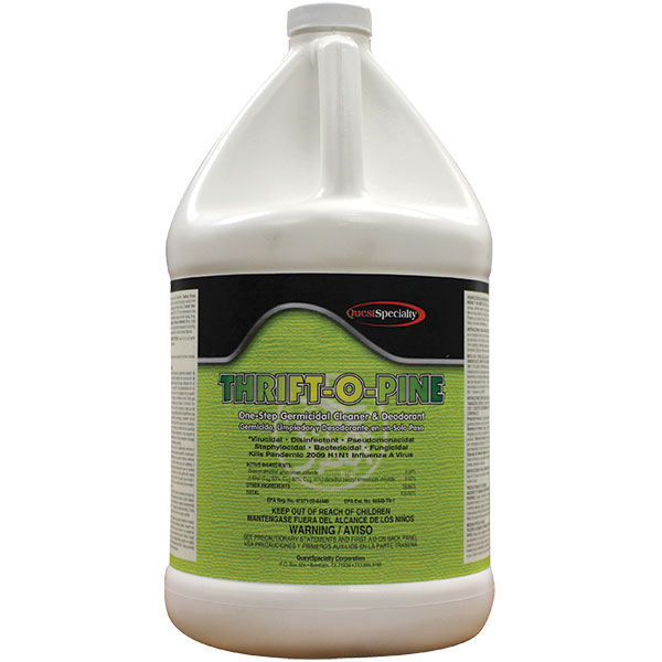 QuestSpecialty® Thrift-O-Pine One-Step Germicidal Cleaner, Deodorant, & Disinfectant