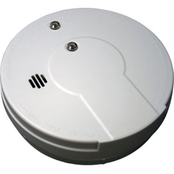 Kidde DC Smoke Alarm w/ Hush (Ionization), Clam Pack