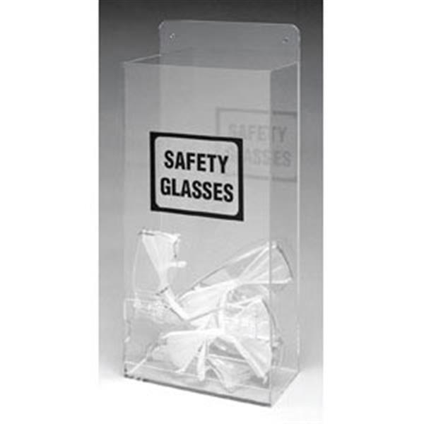 """Brady® Economy Visitor Spec Dispenser w/ """"Safety Glasses"""" Legend"""