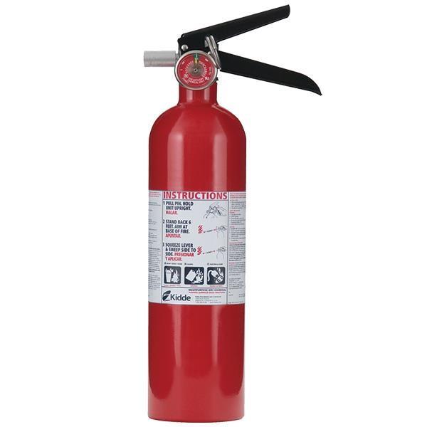 Kidde 2.5 lb ABC Automotive FC110M Extinguisher w/ Plastic Bracket w/ Metal Strap