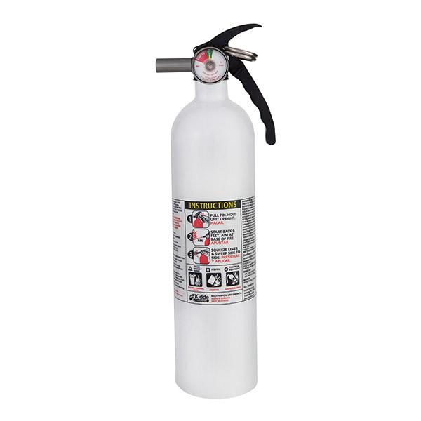Kidde 2.25 lb ABC Mariner 110 Extinguisher w/ Metal Valve & Plastic Strap Bracket (Disposable)