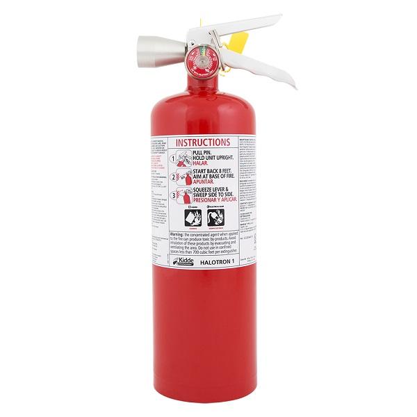 "Kidde Pro Plusâ""¢ 5 lb Halotron Iâ""¢ Fire Extinguisher w/ Wall Hook"