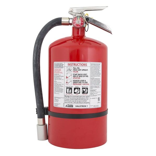 Kidde Pro Plus™ 11 lb Halotron® I Extinguisher w/ Wall Hook
