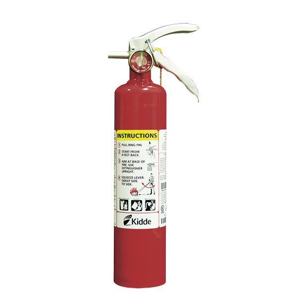 """Kidde Pro Plusâ""""¢ 2.5 lb ABC Extinguisher w/ Vehicle Bracket"""