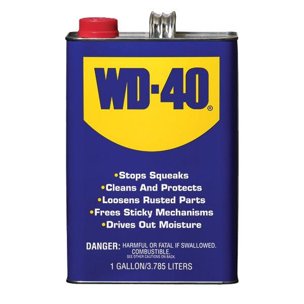 WD-40® Bulk Liquid (CARB Compliant), 1 gal, 4/Pkg