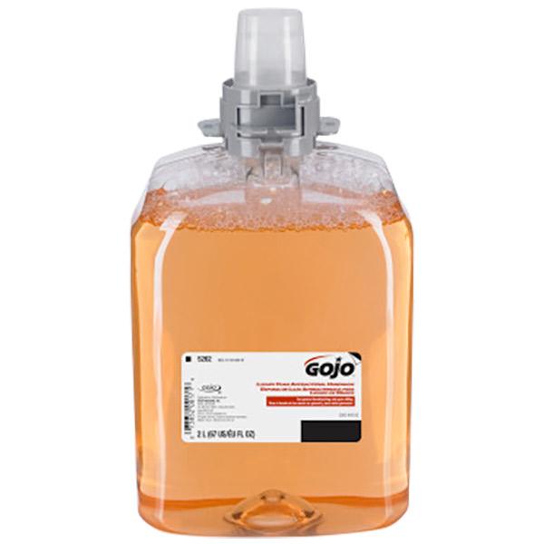 Gojo® Luxury Foam Antibacterial Handwash Refill, 2 L, 2/Case