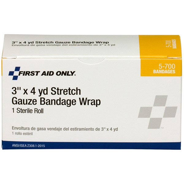 """Sterile Stretch Gauze Bandage, 3"""" x 4 yd"""