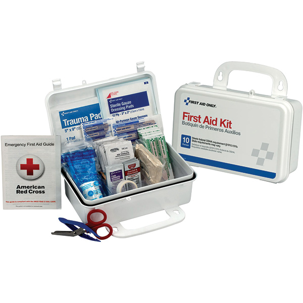 10-Person Weatherproof First Aid Kit