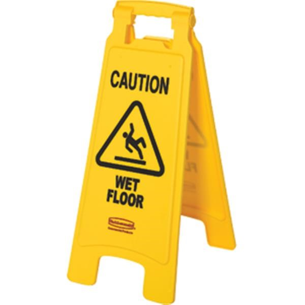 """Rubbermaid® """"Wet Floor"""" Safety Sign"""