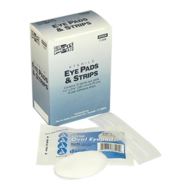 Eye Pads & Strips, 20 Box/10 ea