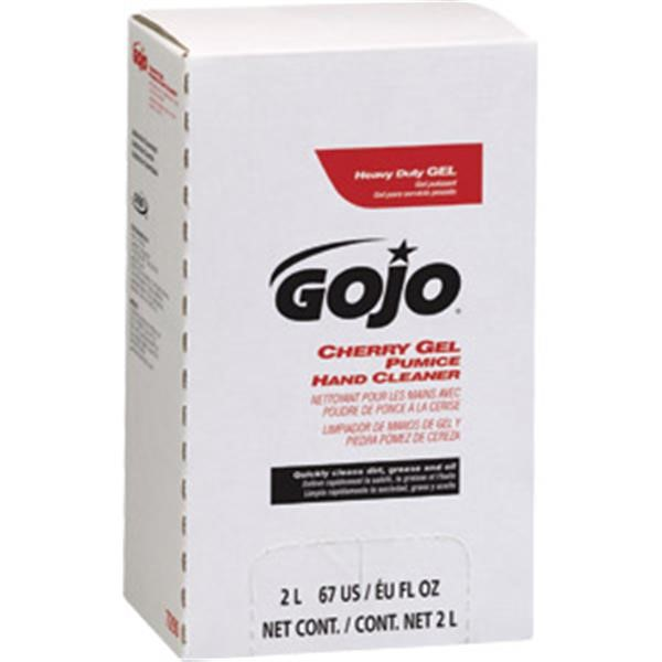 Gojo® Cherry Gel Pumice Hand Cleaner, 2 L Refill
