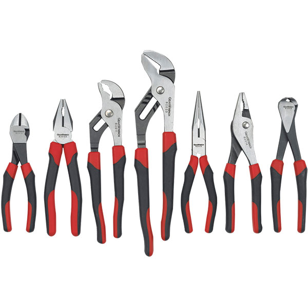 GearWrench® 7-Piece Mixed Dual Material Plier Set