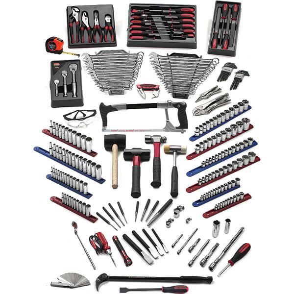 GearWrench® 210-Piece Career Builder TEP Starter Tool Set