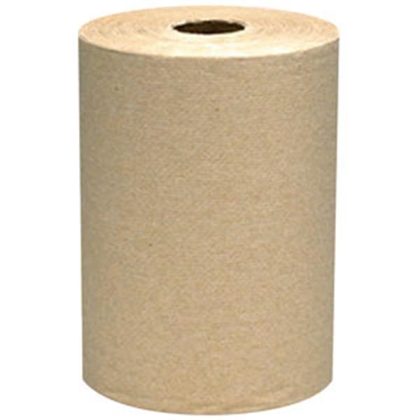 "VonDrehle® Preserve® Hardwound Towels, Natural, 12 Rolls/7 7/8"" x 350' ea"