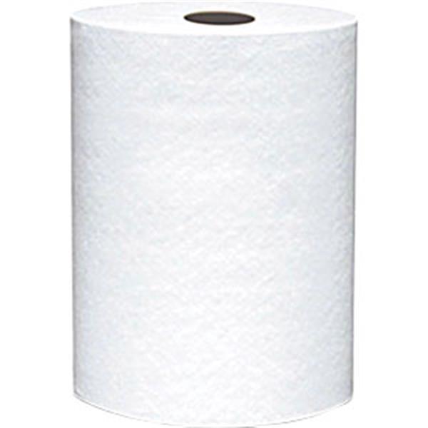 "VonDrehle® Preserve® Hardwound Towels, White, 12 Rolls/7 7/8"" x 600' ea"