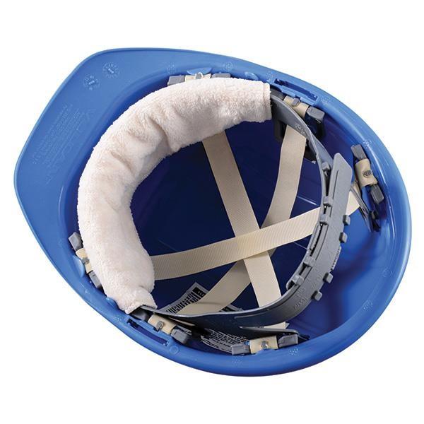 OccuNomix Snap-On Hard Hat Sweatband, Beige