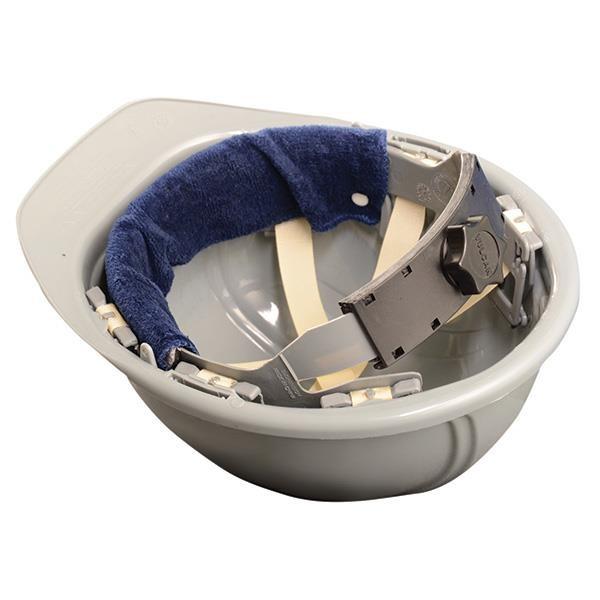 OccuNomix Snap-On Hard Hat Sweatband, Navy